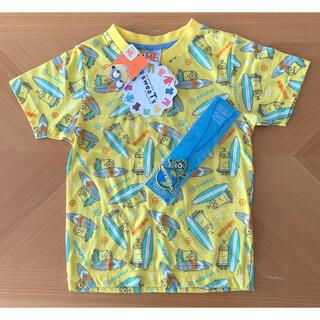 ミニオン(ミニオン)のミニオン 半袖Tシャツ 110  ピカピカチャーム付(Tシャツ/カットソー)