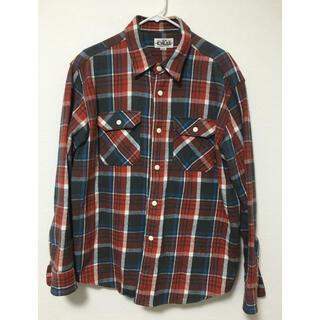 CALEE HEAVYNEL CHECK SHIRT キャリー ネルシャツ