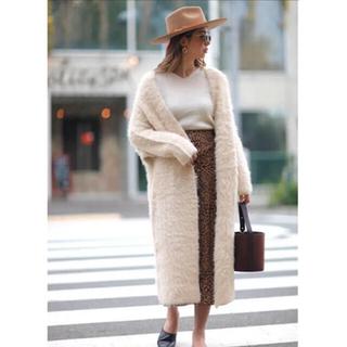 ルームサンマルロクコンテンポラリー(room306 CONTEMPORARY)のroom306 Feather Yarn 2way Knit Coat (毛皮/ファーコート)
