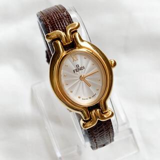 FENDI - 【稼働品】良品!!フェンディ◆レディース腕時計