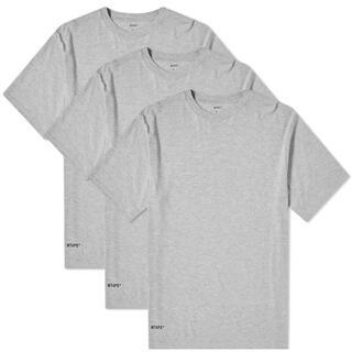 ダブルタップス(W)taps)のWTAPS SKIVVIES.TEE /  無地Tシャツ グレー(Tシャツ/カットソー(半袖/袖なし))