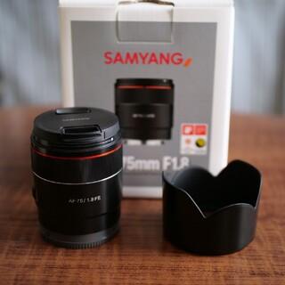 SONY - SAMYANG SONY E AF 75mm  f1.8 サムヤン ソニー FE