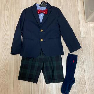 green label relaxing - グリーンレーベル 男の子 5点セット 卒園式 入学式 セレモニースーツ