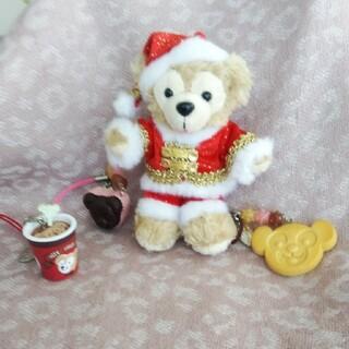 ダッフィー - ダッフィー東京ディズニーシー☆クリスマス☆オープンマウスぬいぐるみバッチ&オマケ