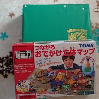 タカラトミー(Takara Tomy)の中古 美品 ☆ おでかけ立体マップ ☆(電車のおもちゃ/車)