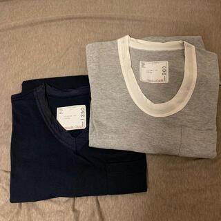 サカイ(sacai)のレア sacai カットソー2枚セット 希少(Tシャツ/カットソー(半袖/袖なし))