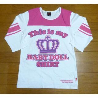 ベビードール(BABYDOLL)のBABY DOLL ディズニー ミッキーTシャツ サイズS <h224>(Tシャツ(長袖/七分))