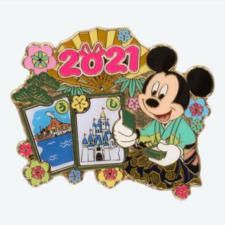 Disney - 新商品☆ ピンバッジ ミッキー 新年 ピン 丑年 うし 2021