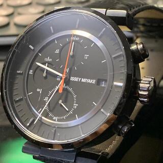 ISSEY MIYAKE - ISSEY MIYAKE イッセイミヤケ W  腕時計 ブラック