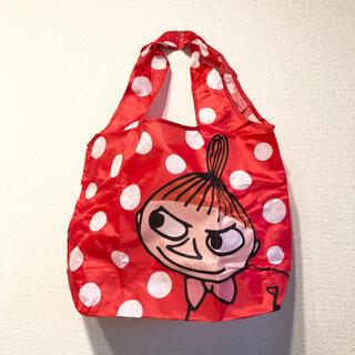 リトルミー(Little Me)のムーミン エコバッグ 折りたたみ くるくるショッピングバッグ ミー ミィ(エコバッグ)