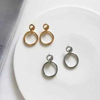 ローリーズファーム(LOWRYS FARM)の再#371 import pierce : circle ray silver(ピアス)