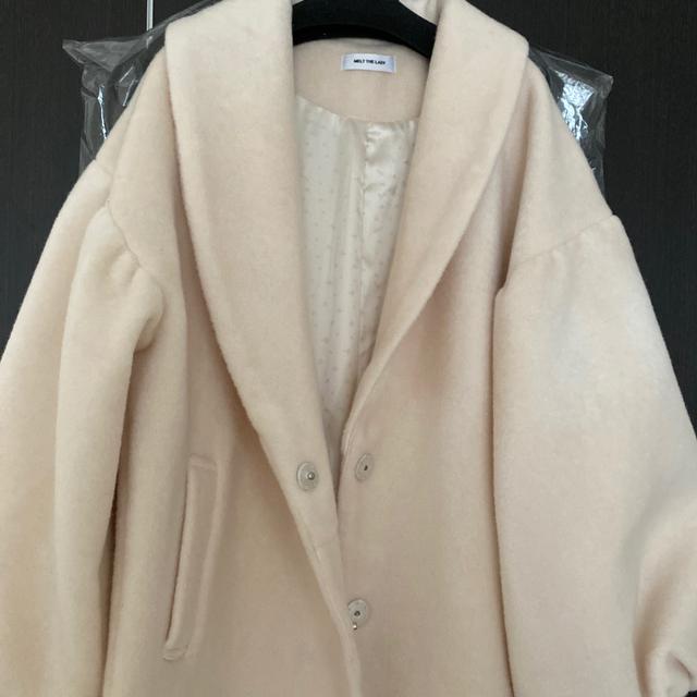 Bubbles(バブルス)のmelt the lady plain long gown ガウンコート  レディースのジャケット/アウター(ガウンコート)の商品写真