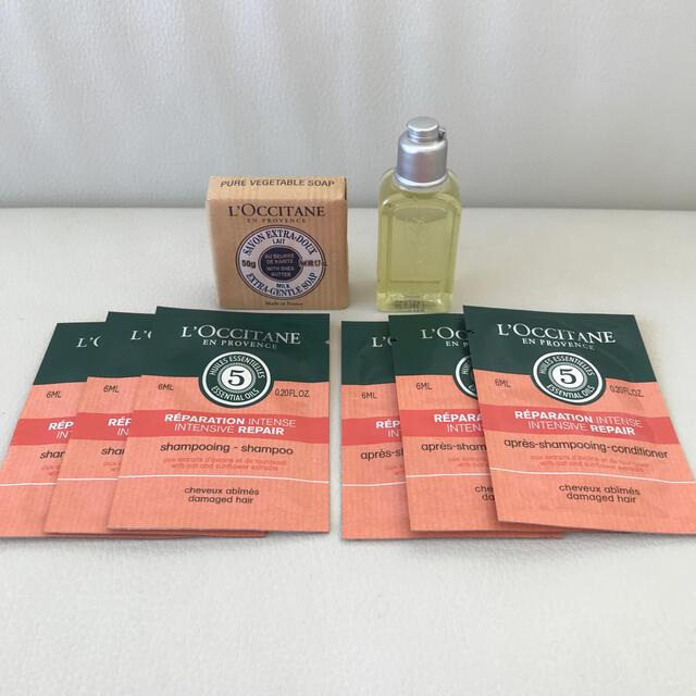 L'OCCITANE(ロクシタン)のロクシタン シャンプー ・シャワージェル コスメ/美容のキット/セット(サンプル/トライアルキット)の商品写真