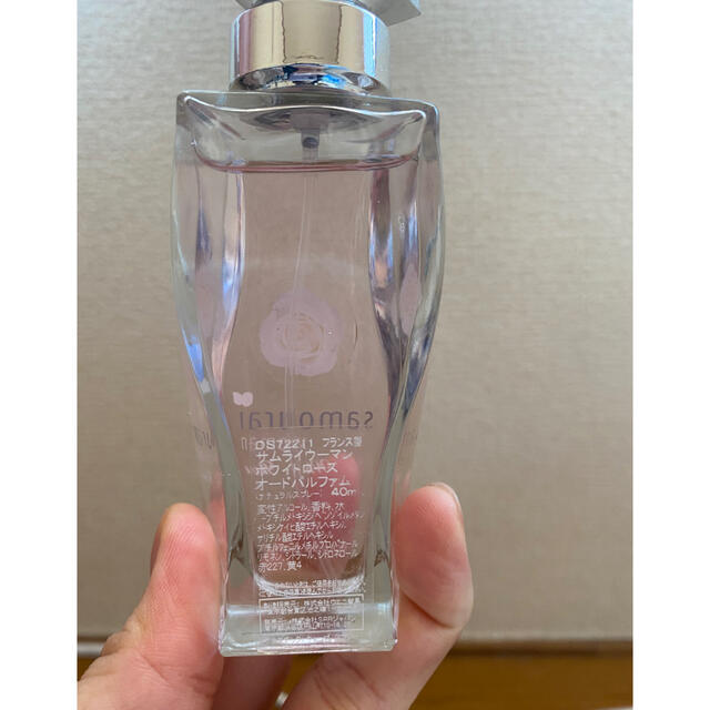 SAMOURAI(サムライ)のサムライウーマン ホワイトローズ 香水 コスメ/美容の香水(香水(女性用))の商品写真