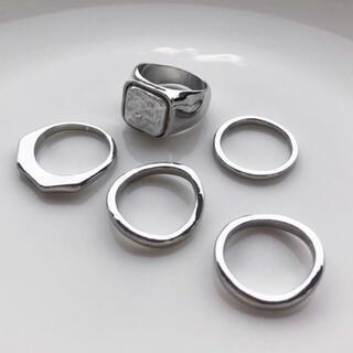 リングセット シルバー色(リング(指輪))