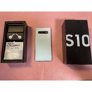 SAMSUNG - 【シャッター音なし】 Samsung Galaxy S10【SIMフリー】