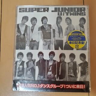 スーパージュニア(SUPER JUNIOR)の★未開封★SUPER JUNIOR U/TWINS 来日記念盤 スーパージュニア(K-POP/アジア)
