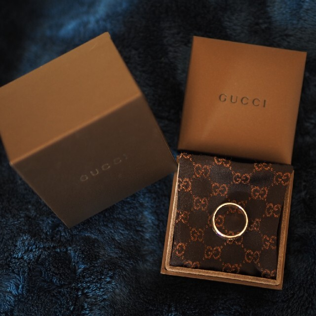 Gucci(グッチ)のGUCCI blind for love リング 指輪 メンズのアクセサリー(リング(指輪))の商品写真