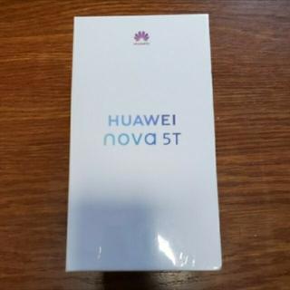 ANDROID - (新品未使用)Huawei nova 5T