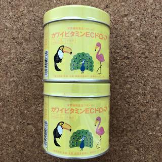 【カワイビタミンECドロップ 肝油ドロップ 2缶】