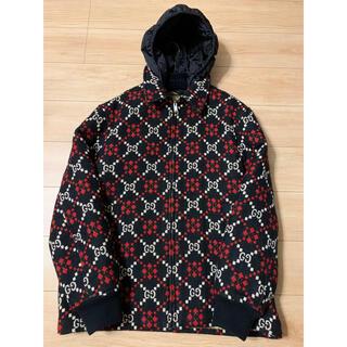グッチ(Gucci)のGUCCI グッチ ウール ジャケット コート GGダイヤモンド ウール (ブルゾン)