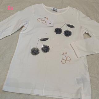 Bonpoint - ボンポワン noel Tシャツ 8a