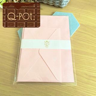 キューポット(Q-pot.)のQ-pot. サクラ レターセット 手紙 封筒 便箋(カード/レター/ラッピング)