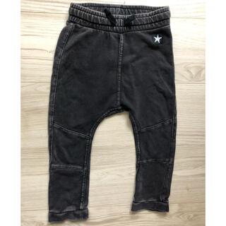 H&M - ブラックデニム風★スウェットパンツ