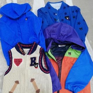 ミキハウス(mikihouse)のミキハウス パーカー 上着 セット(Tシャツ/カットソー)