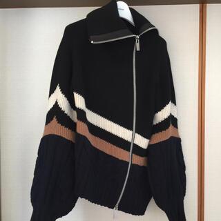 サカイ(sacai)のsacai   2019aw  ニットプルオーバー(ニット/セーター)