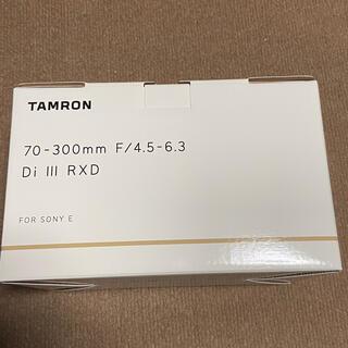 TAMRON - タムロン A047 70-300mm F/4.5-6.3 Di III RXD