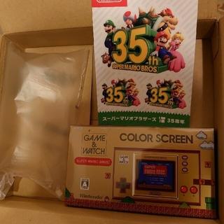 ニンテンドウ(任天堂)のゲーム&ウオッチ スーパーマリオブラザーズ(携帯用ゲーム機本体)