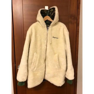 シュプリーム(Supreme)のsupreme sherpa reversible work parka(パーカー)