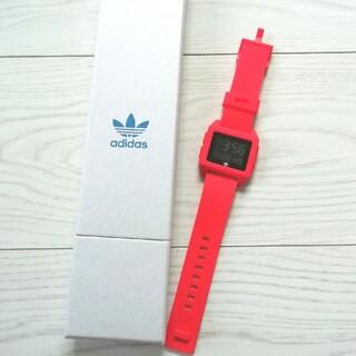アディダス(adidas)のadidas アディダス 腕時計 デジタル時計 アディダス赤(その他)