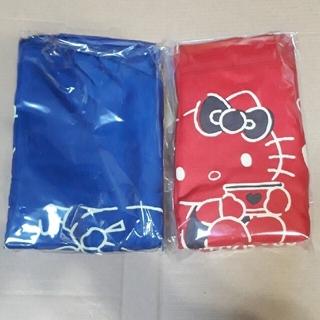 エースコック ハローキティエコバック2色《赤・紺》(エコバッグ)