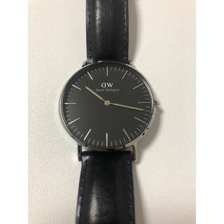 ダニエルウェリントン(Daniel Wellington)のdanielwellington 36センチ メンズ 腕時計(レザーベルト)