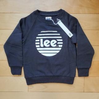 リー(Lee)の【新品】Lee ロゴ 裏起毛トレーナー 120cm(Tシャツ/カットソー)