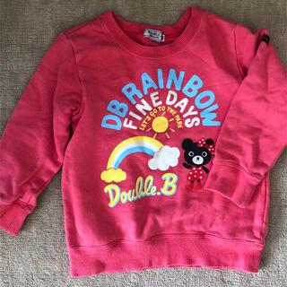 ダブルビー(DOUBLE.B)のダブルビートレーナー100(Tシャツ/カットソー)