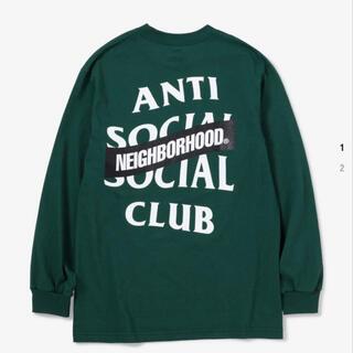 NEIGHBORHOOD - antisocialclub neighborhood ロンT
