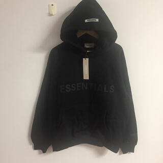 FEAR OF GOD - サイズM黒fog essentials パーカー