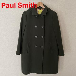 ポールスミス(Paul Smith)のPaul Smith レディース ロング コート アウター グリーン(ロングコート)