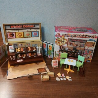 タカラトミー(Takara Tomy)のリカちゃん ドーナツいっぱいミスタードーナツショップ(ぬいぐるみ/人形)