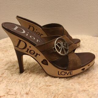 Christian Dior - Christian Dior クリスチャンディオール サンダル
