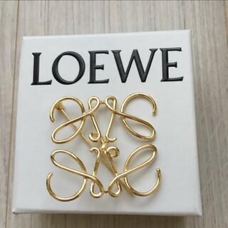 ロエベ(LOEWE)のLOEWEゴールドブローチ❗️最終お値下げ❗️(ブローチ/コサージュ)