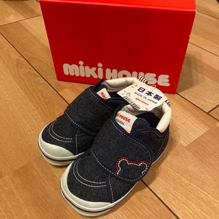 mikihouse - ミキハウス セカンドシューズ スニーカー 13.5 インディゴ
