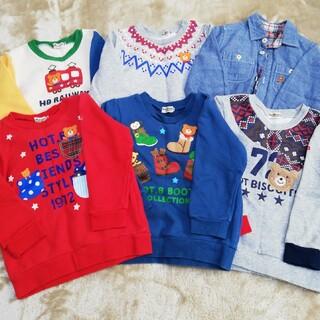 ミキハウス(mikihouse)のミキハウス ホットビスケッツ セット 100(Tシャツ/カットソー)
