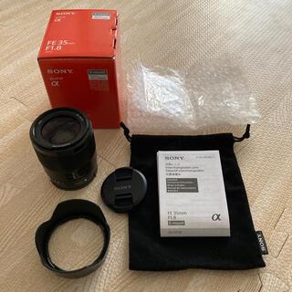 SONY - SONY FE 35mm f1.8、SEL35F18F 美品