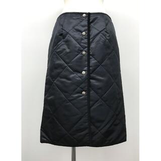 IENA - Traditional Weatherwear キルティングスカート ブラック