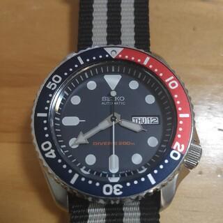セイコー(SEIKO)のセイコー SEIKO ダイバー ネイビーボーイ skx009(腕時計(アナログ))