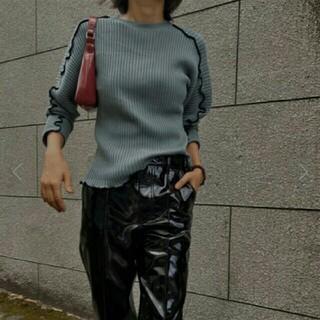ルシェルブルー(LE CIEL BLEU)のルシェルブルー Mellow Rib Knit Tops(ニット/セーター)